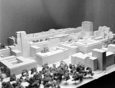 Architectural Model of Birkbeck Campus