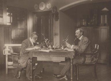 Doctor R. Kingston F.R.S. and Professor D.T. Gwynne-Vaughan