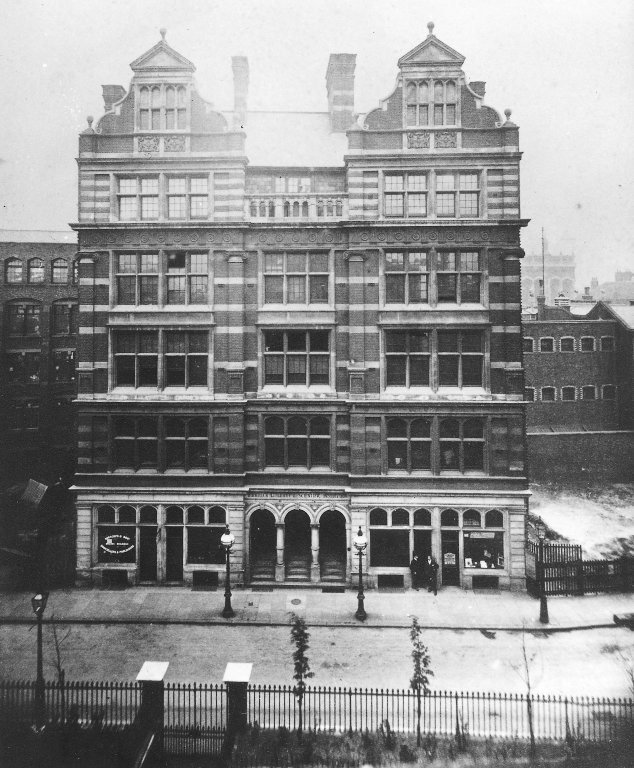 Breams Buildings, Formerly the London Mechanics' Institute