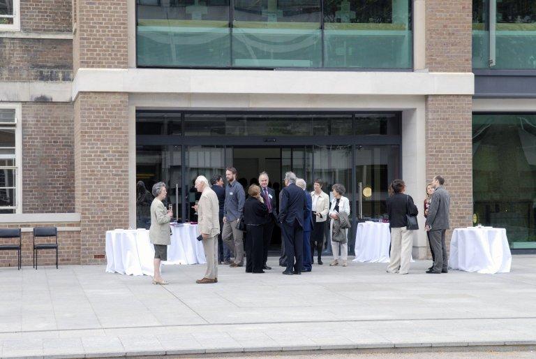 Opening of Torrington Square Building
