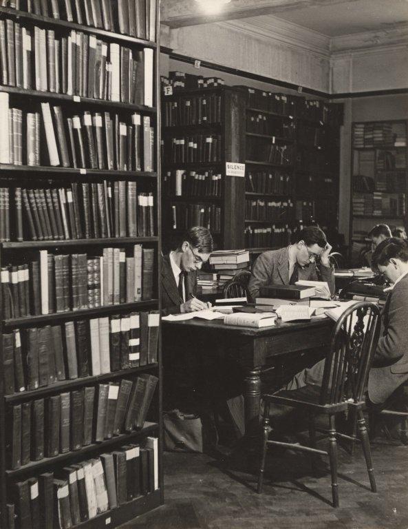 Library at Breams Buildings