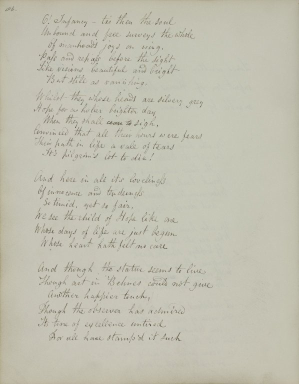 Lines written after viewing a statue of the infant son of Thomas Hope... (2 of 3)