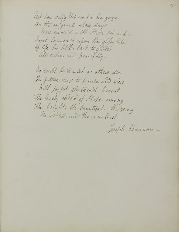 Lines written after viewing a statue of the infant son of Thomas Hope... (3 of 3