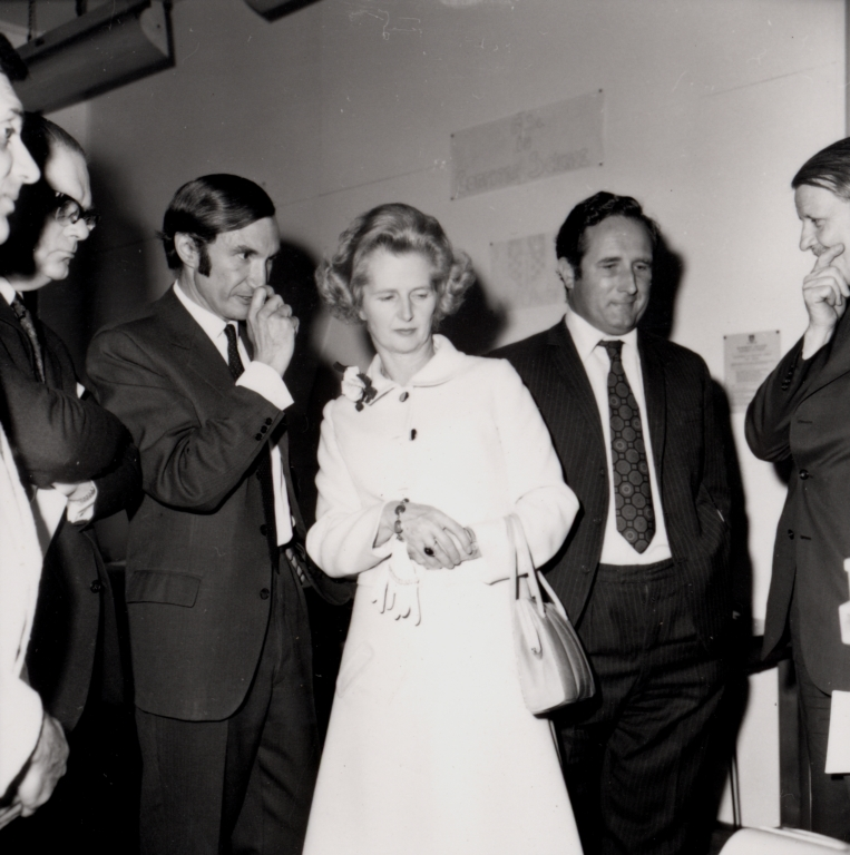 Margaret Thatcher at Birkbeck Open Day