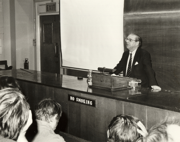 Inaugural Lecture: Professor J.T. Temple