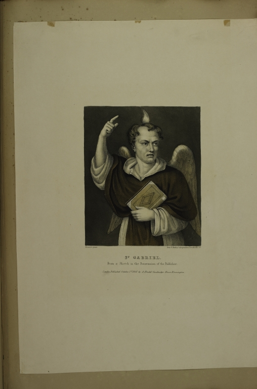Saint Gabriel: From a Sketch in the Possession of the Publisher