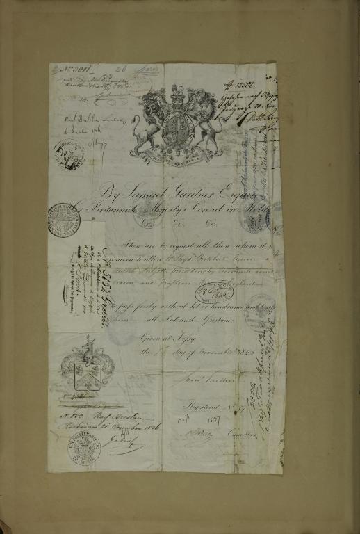 Visa Certificate
