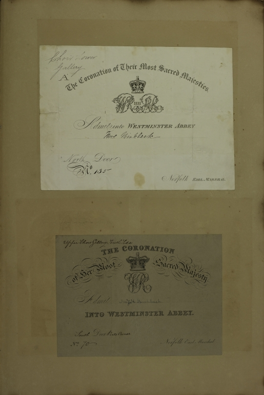 Invitation to Coronations